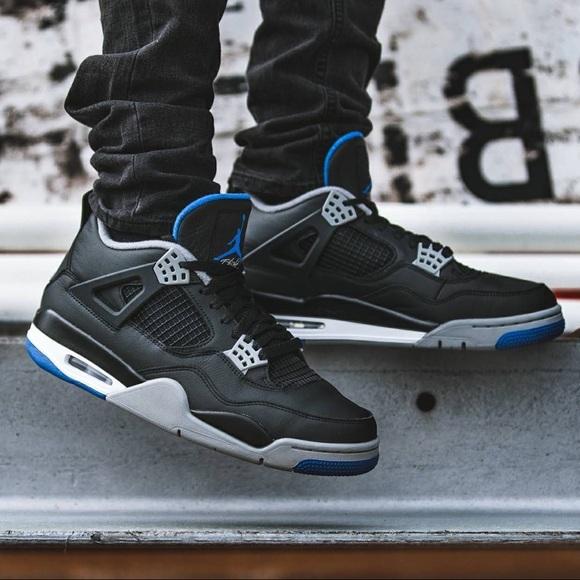 Nike Shoes - Jordan 4 retro Motorsport Alternate